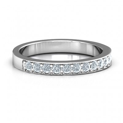 Classic Half Eternity Ring - Handmade By AOL Special