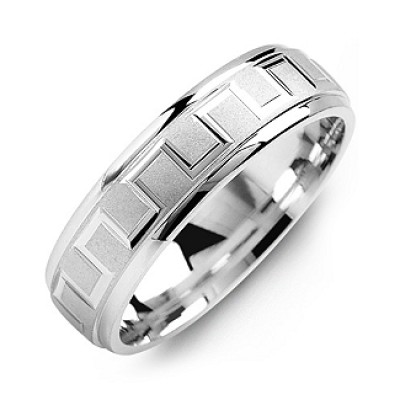 Eternal Greek Key Men's Ring - Handmade By AOL Special