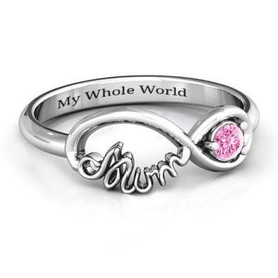 Infinite Bond Mum Ring - Handmade By AOL Special