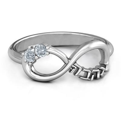 Infinity Ahava Ring - Handmade By AOL Special