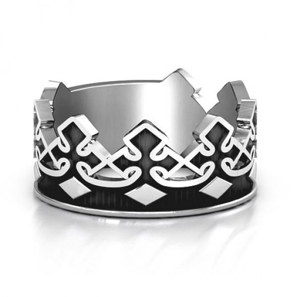Men's Regal Crown Band - Handmade By AOL Special