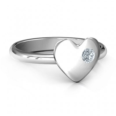 Soulmate's Heart Ring - Handmade By AOL Special