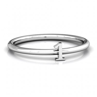 Stackr Number Ring - Handmade By AOL Special