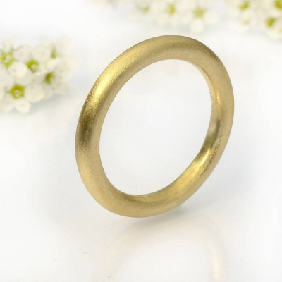 Mens Halo Wedding Ring, 18ct Gold - Handmade By AOL Special