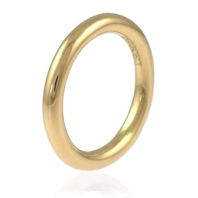 Halo Wedding Ring In 18ct Gold - Handmade By AOL Special