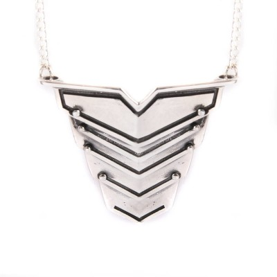 Romeo Necklace Oxydised Silver - Handmade By AOL Special